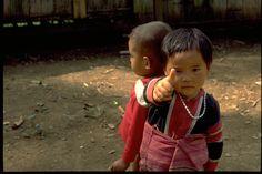 2 lovely little children in Chang rai,Thailand