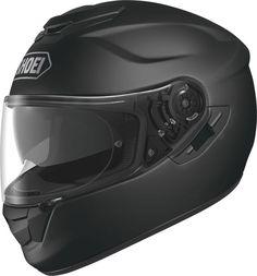Shoei GT-Air Matt Black.  Info: http://www.shoei-europe.com/it/products/GT-AIR/