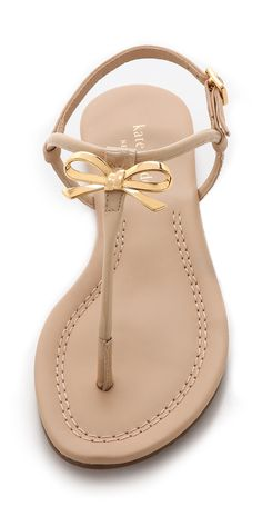 Kate Spade New York Tracie Bow Thong Sandals | SHOPBOP SAVE 25% use Code:SPRING25