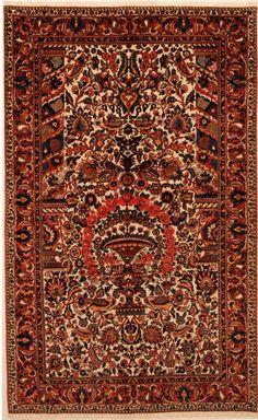Bakhtyari Rug 5'6″ x 9′ 1