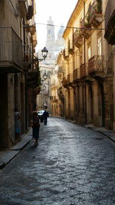 Caltagirone, sicily, Street