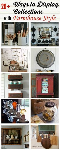 Farmhouse Friday #9 - Farmhouse Collections - Knick of Time