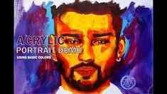 Acrylic potrait using basic colors | Shivam Sehgal Artworks #diy #diyart #speedpaint #speedpainting #timelapse #timelapsepainting #stepbystep #music #shivamsehgal #shivamsehgalartwork #speedportrait #homedecor