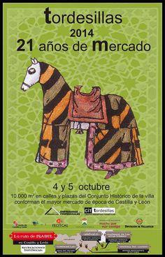 #MercadoMedieval en Tordesillas 4-5 octubre