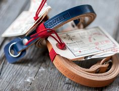 Handmade Leather Camera Strap. Fixed length by TAPandDYE on Etsy