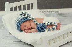 Newborn Baby Hat Elf