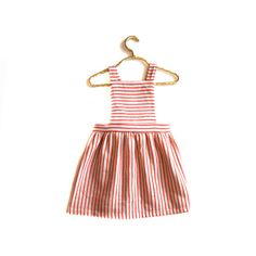 Our Primary Pinafore is a modern take on a classic silhouette!