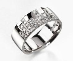 """ New York"" ring. Korus Design, Finland.  www.korus.fi"