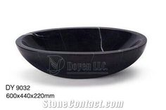 Nero Margiua Marble Bathroom Vanity Vessels, Distributor Basins, Cheap Bowls & Marble Sinks, Wholesale Wash Basins