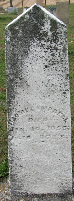Naomi Gustin Campbell (1770 - 1856) - Find A Grave Photos