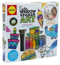 Alex Toys Craft Super Window Sticker Art 143N for only $17.71 You save: $4.28 (19%)
