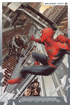 Spider-Man 2 (2004) Spider-Man Vs Doc. Oct