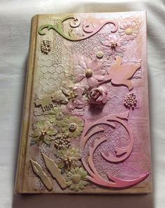 Craft Time...My Artistic Journey...: Altered Art/Mixed Media Book Covers - Samples for Workshop 18th May