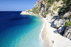 A beautifull beach in the little island of Karpathos Greece
