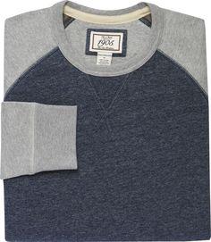 1905 Tailored Fit Raglan Sleeve Pullover Shirt