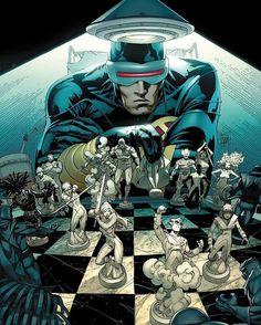 Cyclops (Scott Summers) by Adam Kubert <Comic> INTERNET-CON Channel features Truth News & Original Shows: YouTube.com/Imgur