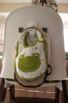 A great place to store bibs. Why didn't I think of this? 17 Parent Hacks – That could keep you sane!