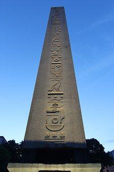 Dikilitaş, Hiyeroglifleri, Mısır