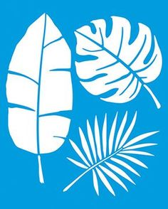 Litoarte Stencils, Leaf Stencil, Stencil Patterns, Stencil Designs, Paper Art, Paper Crafts, Diy Crafts, Logo Fleur, Diy Wall Painting