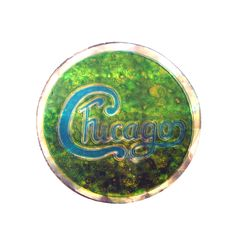 vintage CHICAGO Transit Authority band enamel pin button 25 or 6 to 4 1969 1970