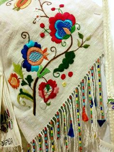 Items similar to French Linen Hand Embroidered Tablecloth Mexican Embroidery, Hungarian Embroidery, Learn Embroidery, Ribbon Embroidery, Embroidery Art, Cross Stitch Embroidery, Machine Embroidery, Bordado Jacobean, Jacobean Embroidery
