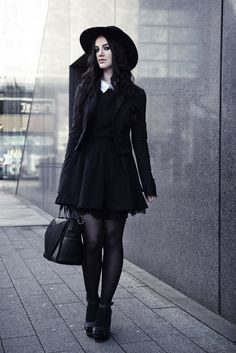NuGoth Fashion, Pastel Goth, Goth Girl, Modern Gothic is a flexible alternative style when you don't know what else to wear.