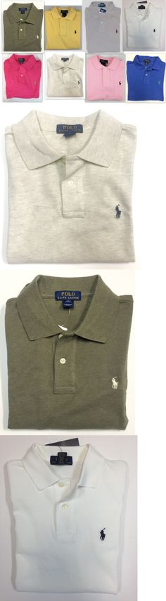 Tops Shirts and T-Shirts 175521: Polo Ralph Lauren Boys Shirt Sz 14-16 Kids Large Short Sleeve Cotton Mesh Top -> BUY IT NOW ONLY: $30 on eBay!