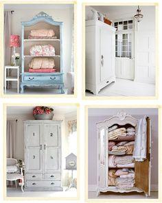 armoires - interesting furniture pieces in kitchen, bedrooms, bathrooms & hallways