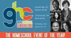 You Could Attend My Favorite Homeschool Convention - Family registration giveaway to the Great Homeschool Conventions
