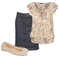 Love the top! Especially with the short denim skirt. So cute!! I want a short denim skirt now....