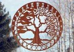 Solar Woodcuts, Killaloe, Ontario