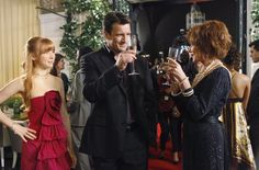 Nathan Fillion, Susan Sullivan and Molly Quinn of Castle in the episode 'When th...