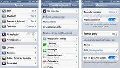 Tutorial para limitar el uso de iMessage para iPhone, iPad y iPod Touch únicamente a personas que tengas en tu agenda para evitar mensajes de desconocidos