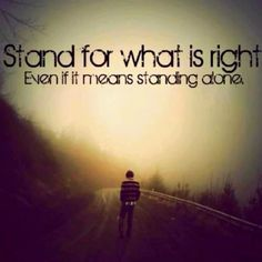 Stand strong.