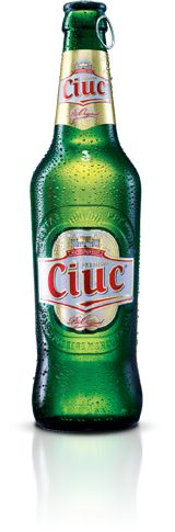 Ciuc Premium is a beer using a German type, with a concentration of 5% alch. and EP 11,5%.