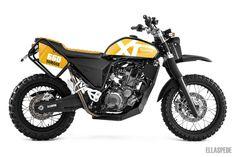 Yamaha XT660R by Ellaspede