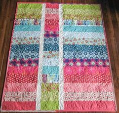 WoW the easiness of this quilt is awesome