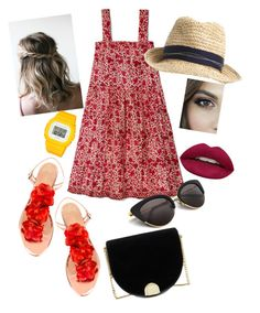"""""""Untitled #210"""" by lindacorp on Polyvore featuring Charlotte Olympia, Ted Baker and Huda Beauty"""