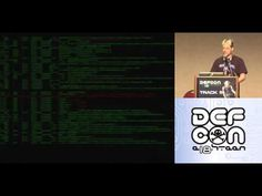 ▶ Defcon 18 Pwned By the owner What happens when you steal a hackers computer zoz part - YouTube