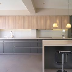 DEVEREUX ~ Modern Kitchen Design ~ Royal Mosa Floor Tiles ~ 204V ~ Interior Design @ Material Plans