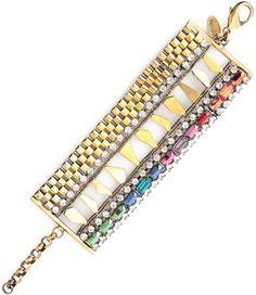 Colorful stones bracelet  / ShopStyle: Iosselliani