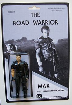 The Road Warrior figure - Max - Popsfartberger