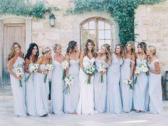 pale blue dresses