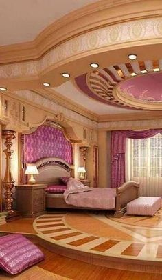 Luxury Bedroom in Pink⭐️