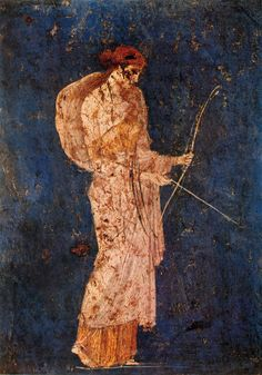 Diana the Melancholy, unknown artist, Pompei