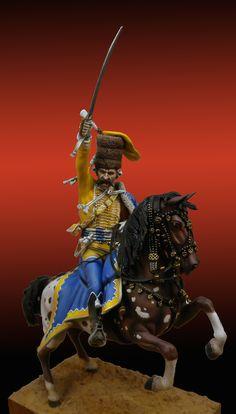 Oficial de Húsares Prusiano Regimiento Malachowski