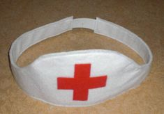 Krankenschwesterhaube (Spielzeug) | Kostenlose Nähanleitungen | kreative.stoffe.de