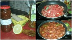 Sweet and Sour Tomato Chutney #spicy