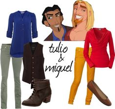 """""""tulio & Miguel"""" by queenmab13 on Polyvore"""
