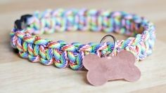 Paracord Dog Collar - Tutorial at HandsOccupied.com check out the site lots of quick original makes... Knotted belt lots of uses
